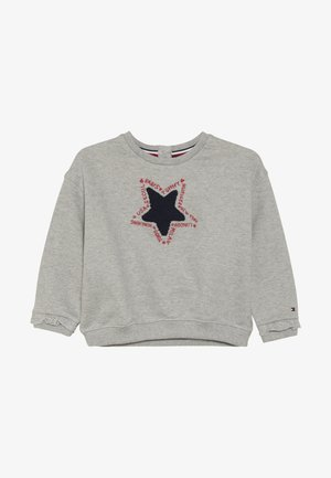 RUFFLE GRAPHIC  - Sweater - grey