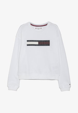 FLAG SLOUCHY  - Sweater - white