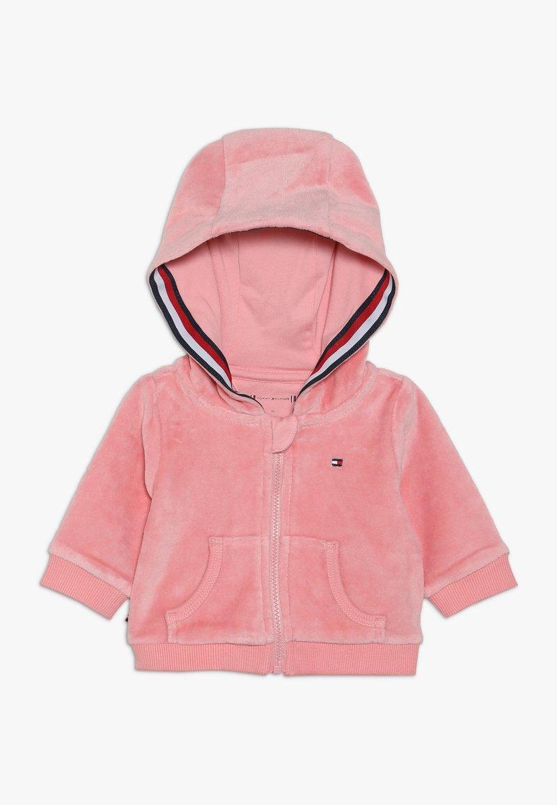 Tommy Hilfiger - BABY ZIP HOODIE - Sweatjacke - pink icing