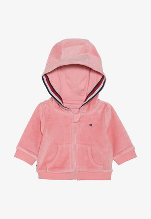 BABY ZIP HOODIE - Bluza rozpinana - pink icing