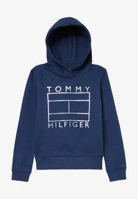 Tommy Hilfiger - ESSENTIAL GRAPHIC HOODIE - Luvtröja - blue - 2