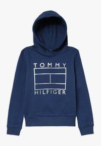 Tommy Hilfiger - ESSENTIAL GRAPHIC HOODIE - Luvtröja - blue - 0