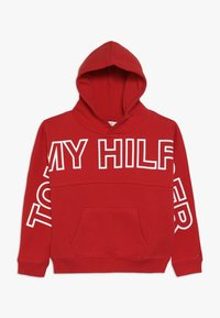 Tommy Hilfiger - SPECIAL HOODIE - Mikina skapucí - red - 0