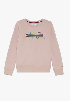 ICONIC LOGO CREW  - Sweatshirt - pale mauve