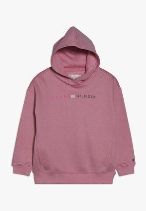 ESSENTIAL LOGO HOODIE - Felpa con cappuccio - pink