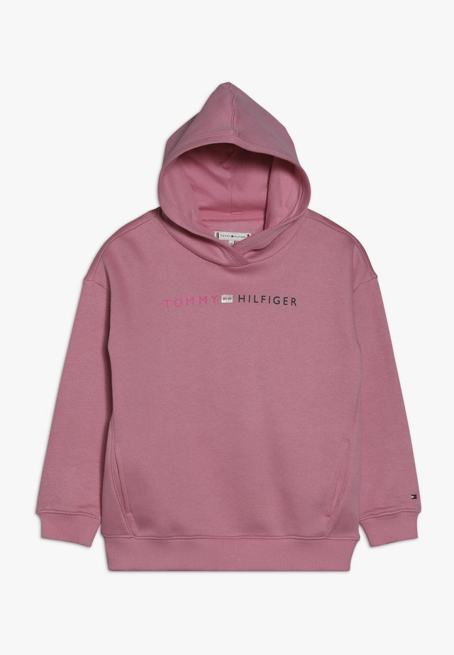 ESSENTIAL LOGO HOODIE - Jersey con capucha - pink