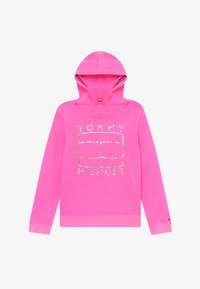 Tommy Hilfiger - ESSENTIAL FLAG HOODIE - Jersey con capucha - pink - 2