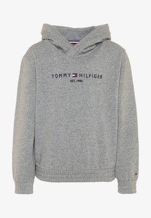 ESSENTIAL HOODED  - Mikina s kapucí - grey