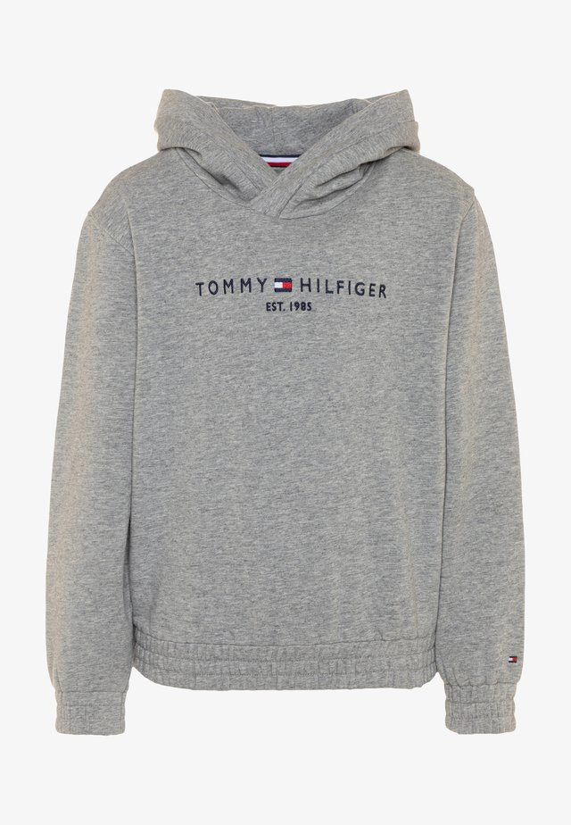 ESSENTIAL HOODED  - Jersey con capucha - grey