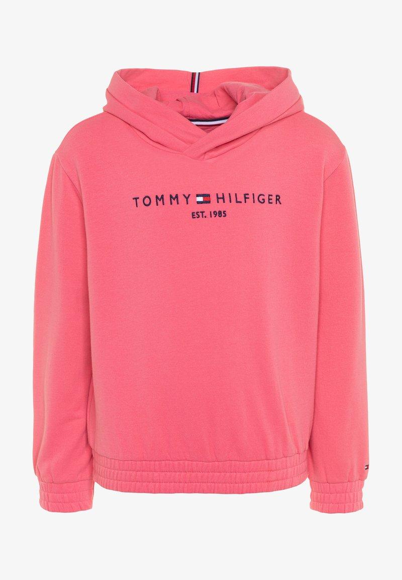 Tommy Hilfiger - ESSENTIAL HOODED  - Bluza z kapturem - pink