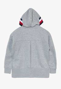 Tommy Hilfiger - GLOBAL STRIPE DETAIL - Mikina na zip - grey - 1