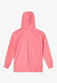 Tommy Hilfiger - GLOBAL STRIPE DETAIL - Zip-up hoodie - pink - 1