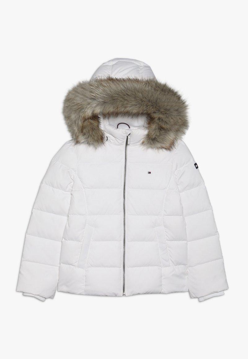 Tommy Hilfiger - ESSENTIAL BASIC JACKET - Down jacket - white