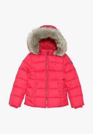 ESSENTIAL BASIC JACKET - Down jacket - red