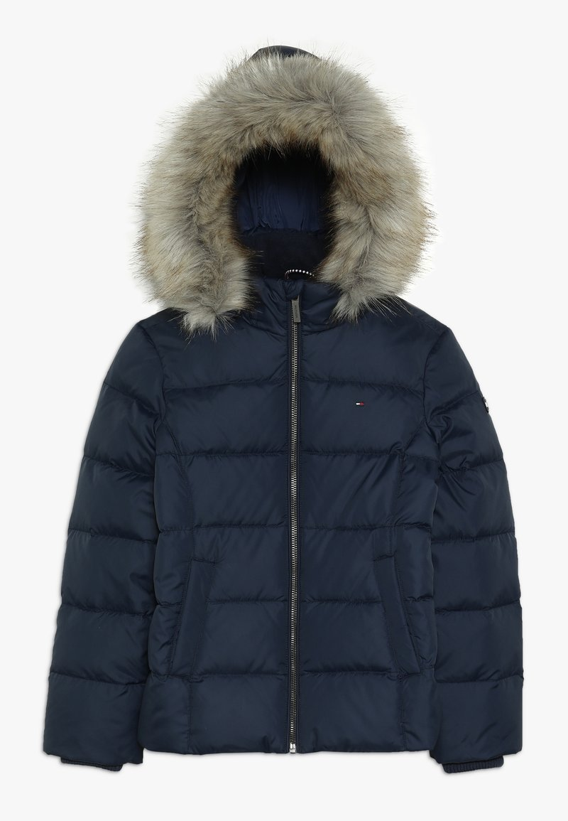 Tommy Hilfiger - ESSENTIAL BASIC JACKET - Daunenjacke - blue