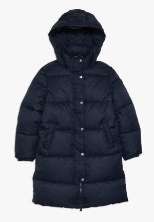 RECYCLED EXTRA LONG PUFFER - Winterjas - blue