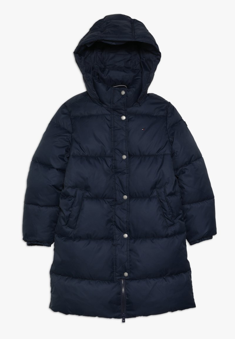 Tommy Hilfiger - RECYCLED EXTRA LONG PUFFER - Vinterkappa /-rock - blue