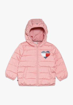 BABY FLAG JACKET - Kurtka zimowa - pink icing