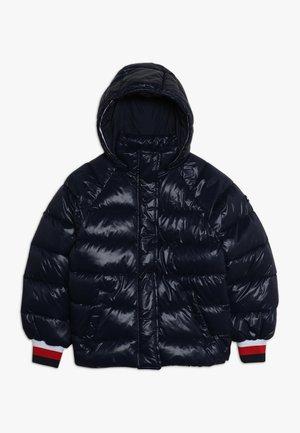 HIGH SHINE PUFFER - Zimní bunda - blue