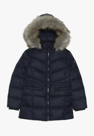 ESSENTIAL COAT - Daunenmantel - blue