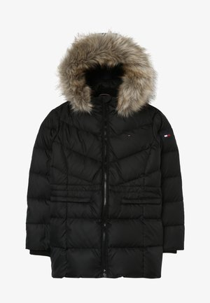 ESSENTIAL COAT - Down coat - black