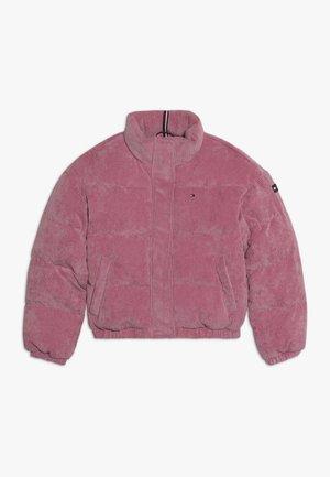 BOXY PUFFER - Winter jacket - purple