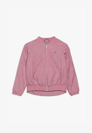 ESSENTIAL TAPE JACKET - Lehká bunda - pink