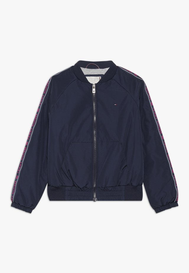 ESSENTIAL TAPE JACKET - Jas - blue