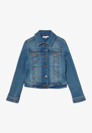 GIRLS BASIC TRUCKER  - Denim jacket - denim