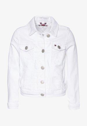 Denim jacket - white denim