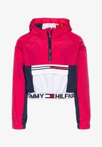 Tommy Hilfiger - POPOVER - Vodotěsná bunda - pink - 0