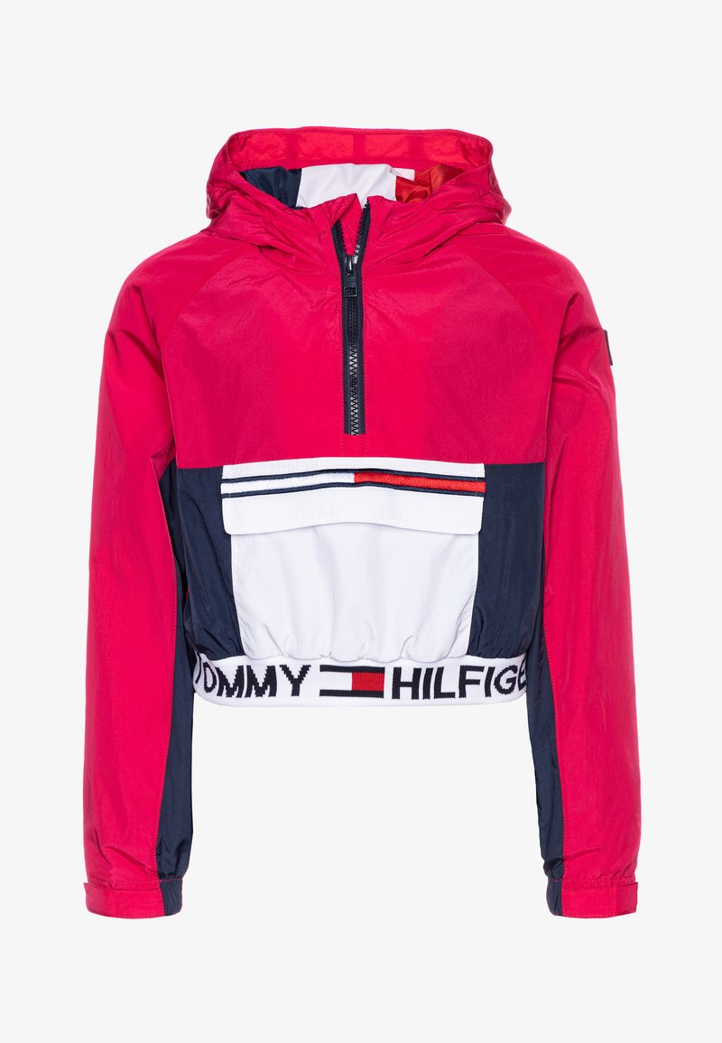 Tommy Hilfiger - POPOVER - Vodotěsná bunda - pink