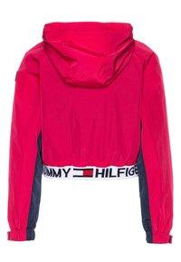 Tommy Hilfiger - POPOVER - Vodotěsná bunda - pink - 1