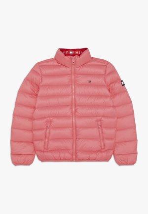 LIGHT JACKET - Bunda zprachového peří - pink