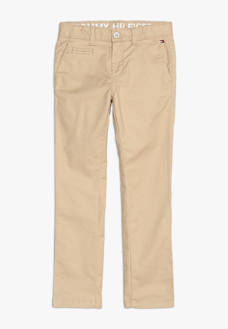 Tommy Hilfiger - ESSENTIAL DOBBY  - Chino - tan