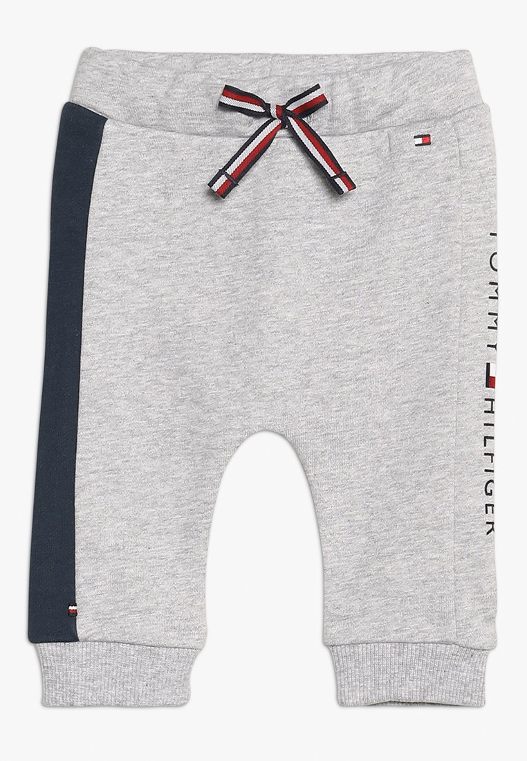 Tommy Hilfiger - BABY LOOPBACK - Trousers - grey heather