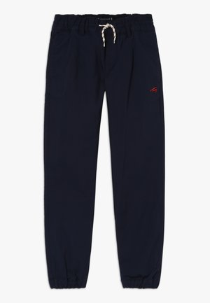 PLEATED JOGGER - Tracksuit bottoms - blue