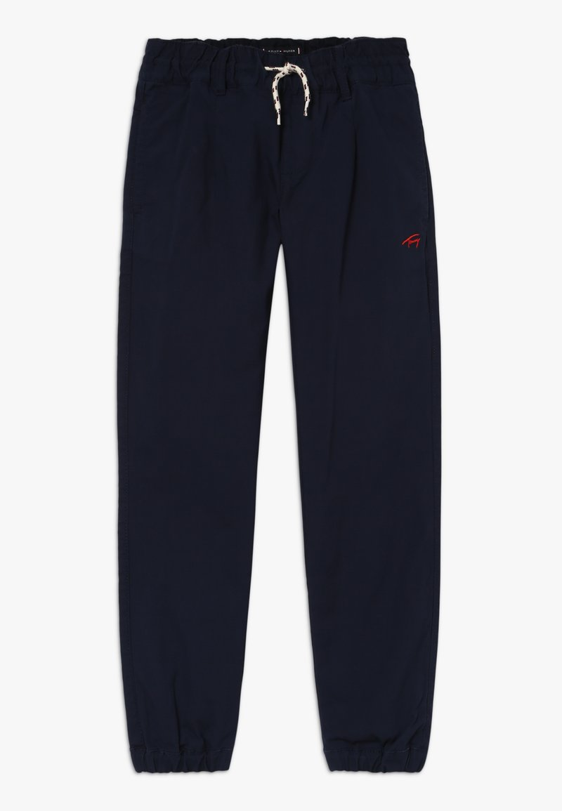Tommy Hilfiger - PLEATED JOGGER - Trainingsbroek - blue