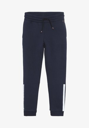 SPECIAL TRACK PANTS - Tracksuit bottoms - blue