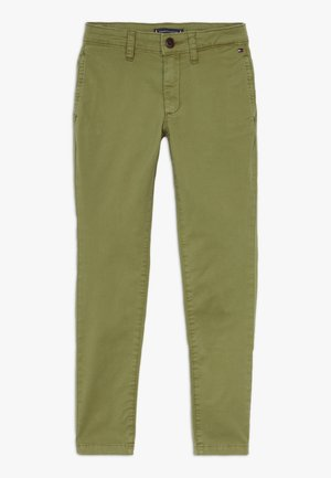 ESSENTIAL SKINNY  FLEX - Chino - green