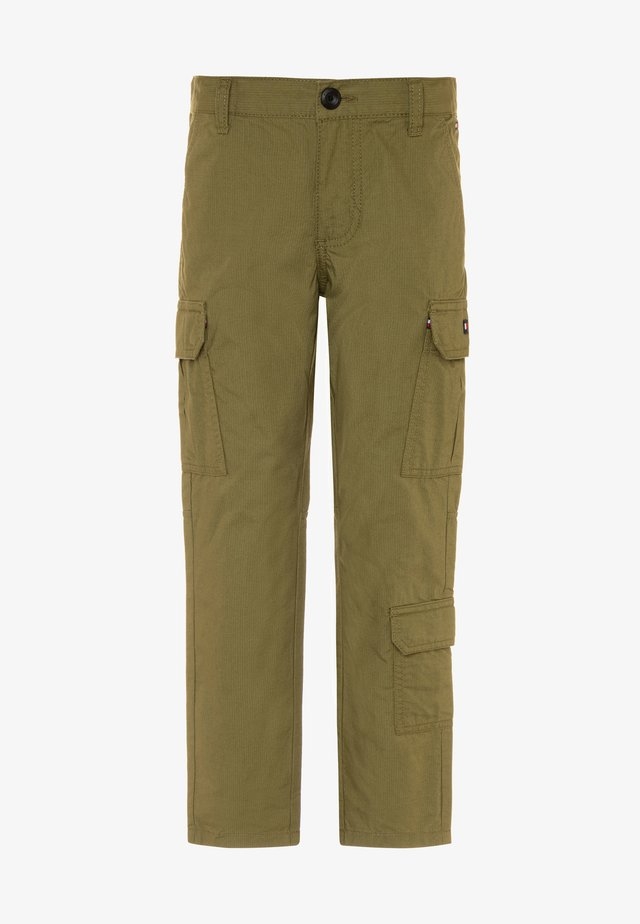 PANTS - Cargo trousers - green