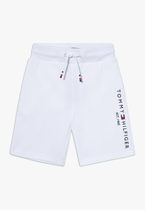 ESSENTIAL - Teplákové kalhoty - white