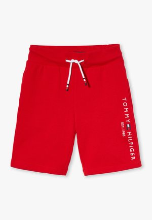 ESSENTIAL - Tracksuit bottoms - red