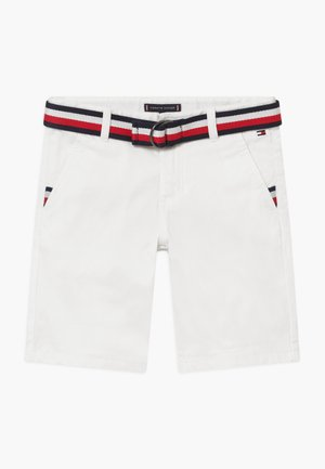 ESSENTIAL BELTED - Shorts - white