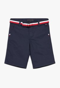 Tommy Hilfiger - ESSENTIAL BELTED - Shorts - blue - 0