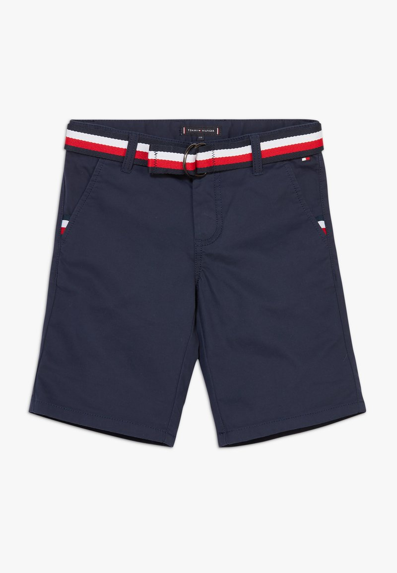 Tommy Hilfiger - ESSENTIAL BELTED - Shorts - blue