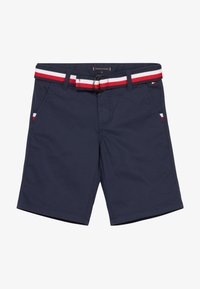 Tommy Hilfiger - ESSENTIAL BELTED - Shorts - blue - 3