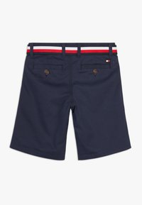 Tommy Hilfiger - ESSENTIAL BELTED - Shorts - blue - 1