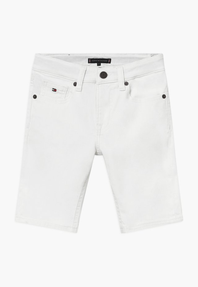 SCANTON  - Denim shorts - white