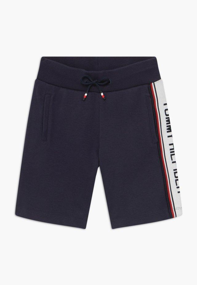 INTARSIA  - Pantalones deportivos - blue